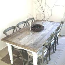 6 person dining table set kitchen for seats dark brown shabby chic round with chairs