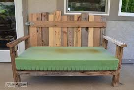 funky wood furniture. Pallet Wood Patio Chair Build Via Funky Junk Interiors Furniture