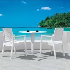 outdoor white wicker furniture nice. Ibiza Wicker Dining Set Outdoor White Furniture Nice E