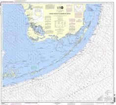 Estero Bay Depth Chart Noaa Nautical Chart 11450 Fowey Rocks To American Shoal