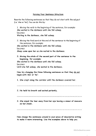 Identifying Sentence Types Worksheet Free Worksheets Library ...