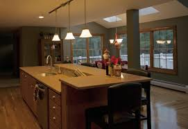 Kitchen Island With Sink And Raised Eating Area Kitchen Islands In