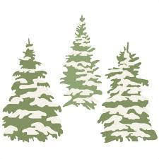 Hand drawn cartoon christmas tree merry christmas christmas svg font. Winter Tree Set Svg Scrapbook Title Winter Svg Cut File Snowflake Svg Cut Files For Cricut