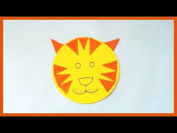 How To Make Face Mask From Chart Paper Diy Easy Paper Cat Simple Paper Animal Mask Paper Crafts For Kids