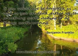 Famous Quotes About Death Best Best Quotes About Death On QuotesTopics