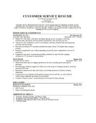 Customer Service Resume Template Free Unique 28 Customer Service Resume Examples Template Lab