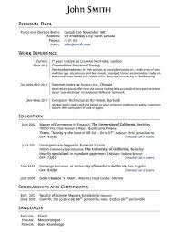 ... Resume For Hospital Job 3 Sample Resume For First Job No Experience  Sample Of High School ...