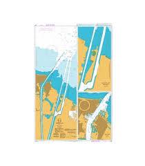 British Admiralty Nautical Chart 240 Approaches To Port Said Bur Sa Id
