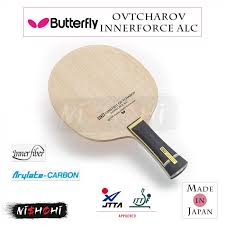 In the penultimate round she lines up alongside colleague shan xiaona, the no.9 seed, romania's elizabeta samara, the no.6 seed and ukraine's margaryta pesotska, the no.7 seed. Butterfly Ovtcharov Innerforce Alc Table Tennis Blade Nishohi Japan
