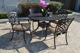 st augustine 4 piece dining set 4 dining chairs 1 round dining table