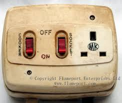 plastic mk cooker switch and 13a socket outlet 12V Switch Wiring Diagram at Mk Cooker Switch Wiring Diagram