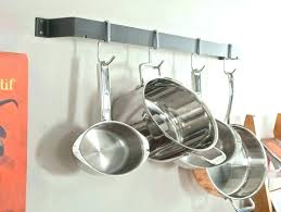 hanging pots and pans pots and pans rack cabinet pot and pan rack wall mounted pot hanging pots and pans