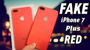 Fake Clone Beware Youtube 7 1 Iphone 1 Buyers Red Plus r81rqOw