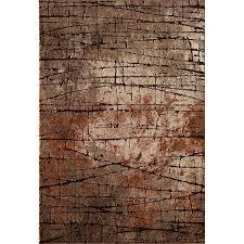 5 x 7 medium brown and rust area rug rainier