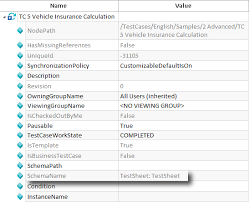 Defining A Data Source For A Testcase Template