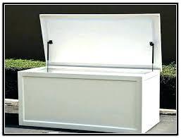 waterproof storage boxes outdoor box bins small bunnings