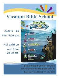 vbs flyer riviera united church of christ comments
