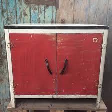 Enamel Top Cabinet Vintage 1950s Metal Kitchen Cabinet Enamel Top Undiscovered