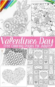 See more ideas about valentines day coloring page, valentines day coloring, coloring pages. Free Valentines Day Coloring Pages For Adults Easy Peasy And Fun