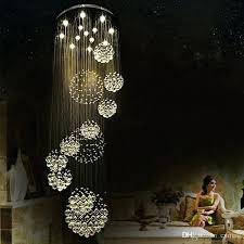 large modern pendant light modern pendant lamp chandeliers crystal staircase light large crystal light crystal ceiling