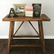 diy lighting truss ana white pottery barn inspired truss end tables projects r23 truss