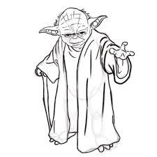 Draw Yoda From Star Wars Star Wars Yoda Drawing Star Wars Fan