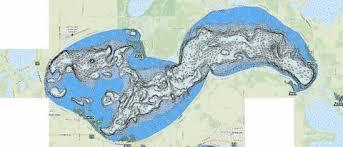 West Battle Fishing Map Us_mn_56023900 Nautical Charts App