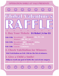 global valentine s raffle is here operation smile at yale