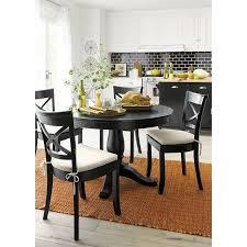 avalon vintner black extension dining set in dining kitchen sets