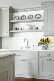 Heidi Piron Design And Cabinetry Traditional Shelving Over Sink