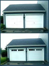 glass panel garage doors glass rage door for used modern s doors cost medium size