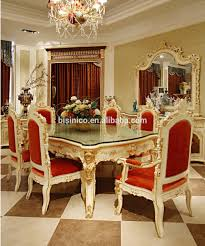 French Style Dining Room Furniture Luxury French Rococo Style Angel Dining Table Set Antique Palace