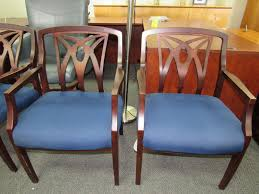 furniture plano tx. Modren Furniture Mahogany Framed Blue Guest Chairs Used Office Furniture Plano Richardson  McKinney Allen Dallas Texas With Tx