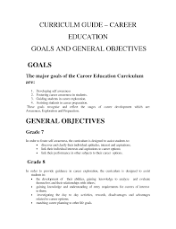 job goals examples and objectives livmoore tk job goals examples and objectives