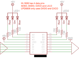 lpd rgb led strip reverse engineer pics questions the problem i m having is that the resistors on the strip are all 1 5ohm rather than what the schematic shows and what i expected to see