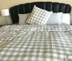 buffalo check comforter plaid duvet cover in twin full queen king size gray and white buffalo check comforter plaid bedding bed sets