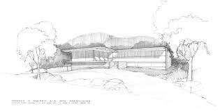 Modern home architecture sketches House Model Decoration Modern Home Architecture Sketches With Sketch Drawn By Architect Donald Polsky Euglenabiz Decoration Modern Home Architecture Sketches With Sketch Drawn By
