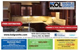 Kitchen Remodel Granite Countertops Kitchen Remodeling Specials Kol Kitchen Bath