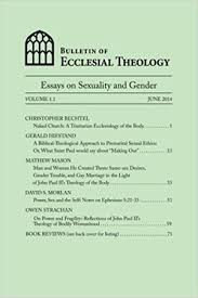 volume essays on sexuality and gender the center for pastor   led by dr peter leithart of the theopolis institute responded to john paul ii s teaching on the meaning of the human body sex gender marriage
