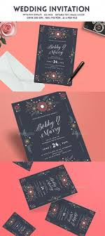 Vintage Invitation Template Simple 48 Best Wedding Invitation Template Design Images On Pinterest