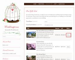 the first step for guests is to enter their name email address and then select a gift to once they have selected their gift the screen will scroll