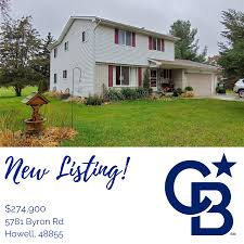 NEW LISTING! 5781 Byron, Howell. $274,900. For info, call the Gerardi Group  at (810)626-8839. #HOMEROCKS #REALESTATE   Open house, Outdoor decor, House