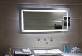 Led Lichtspiegel Dublin Mit Touch Schalter Größe 60x60cm