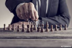 Old Wooden Board Games Retro style image of a businessman playing a game of chess on an 67