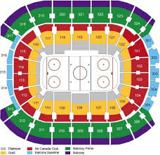 Air Canada Centre Seating Chart Hockey Tickets Toronto Maple Leafs Ticketroute Com