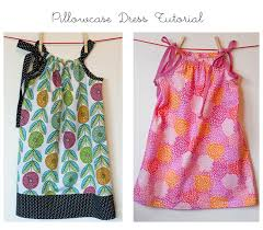 How Much Fabric To Make A Pillowcase Amazing Pillowcase Dress Tutorial Dress A Girl Around The World SewALong
