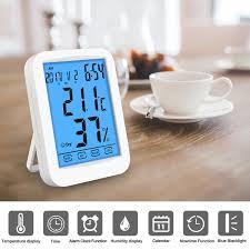 Digitales Thermometer Hygrometer Inne Luftfeuchtigkeit Temperatur