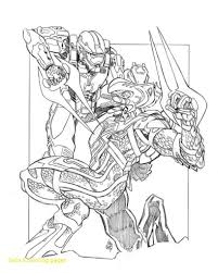Reduced Halo Spartan Coloring Pages Print Out Foto Reach Msu Warrior