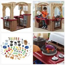 step2 grand walk in play kitchen grill with 103 accessories pretend play new