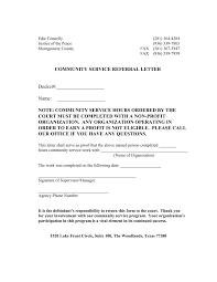community service verification form for court community service letter for court sample latest photos completion